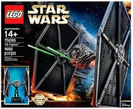 LEGO Star Wars Star Fighter Building Kit gifts for 12 year old boys