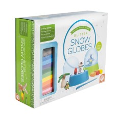 Make Your Own Glitter Snow Globes Arts and Crafts Gifts for Kids