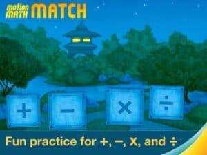 Motion Match Math New STEM Apps for Kids