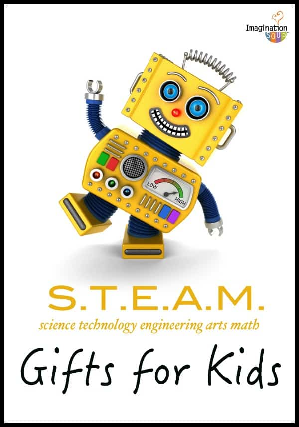 STEAM (STEM) gift ideas for kids -- huge list for the holidays 2015