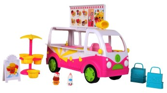 Shopkins Ice Cream Truck Pretend Play Gifts for Kids Gifts for 7-Year Old Girls