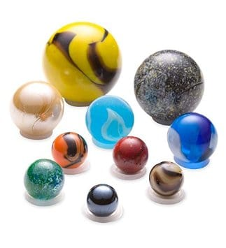 Solar System Marble Set Stocking Stuffers for Kids and Teens Ages 3 - 13