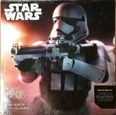 Star Wars The Force Awakens Calendar