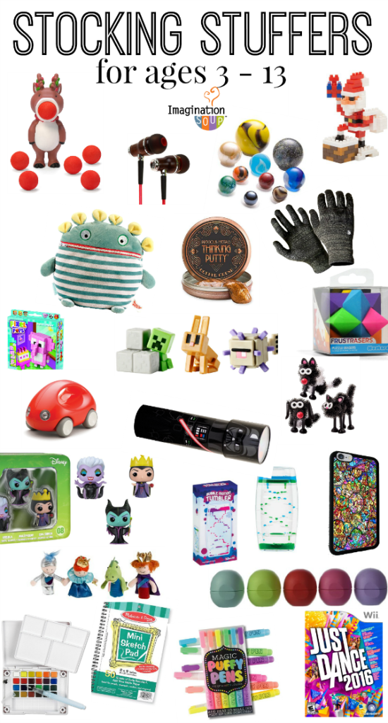 Stocking Stuffer Ideas for kids and tweens