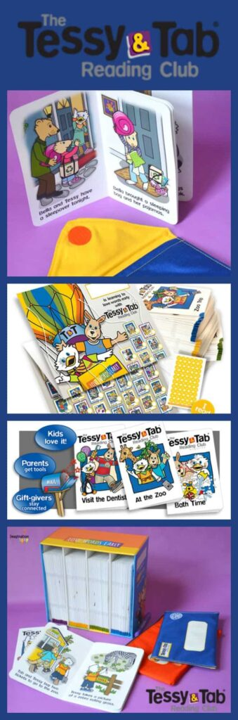 Tessy and Tab subscription reading club for beginning readers