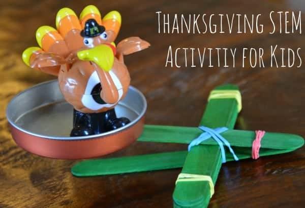 Thanksgiving STEM Activity for Kids