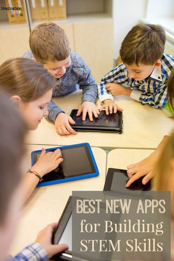 cool new STEM apps for brainiacs science technology engineering math