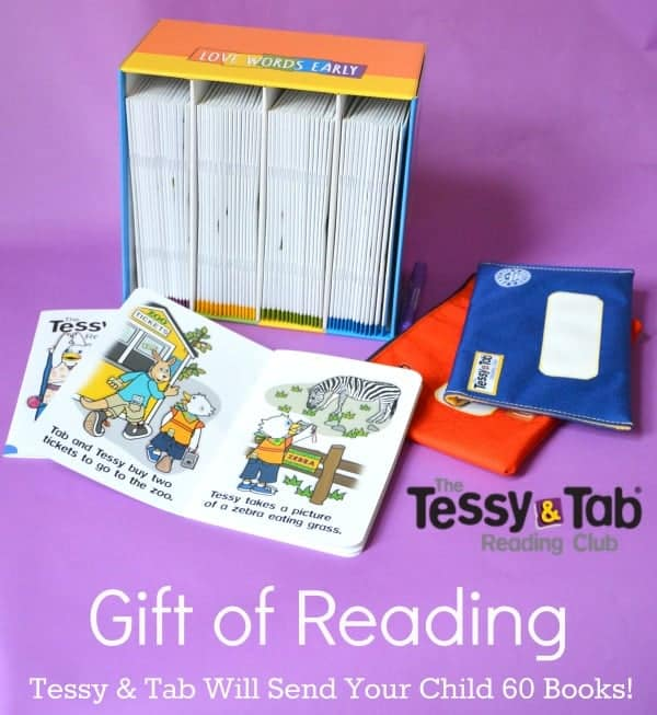 give the gift of reading with Tessy and Tab review