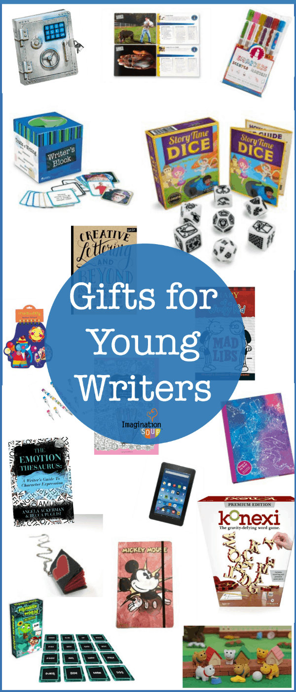 inspiring writing gifts for kids