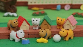 puppy erasers Gifts for Young Writers