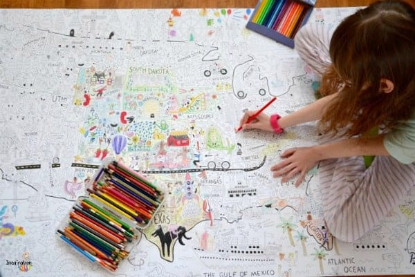the biggest coloring posters ever!