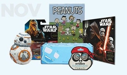 November Nerd Box Monthly Subscription Boxes for Kids