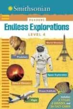 Nonfiction Books for Kids Smithsonian Endless Explorations Level 4 Readers- World Wonders, Predators, Space Exploration, Natural Disasters, Ocean Habitats, Flight