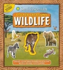 Smithsonian Sticker Creations Wildlife nonfiction books for 7 year olds