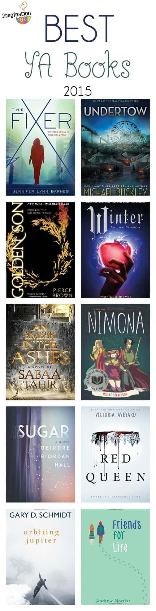 best YA books of 2015
