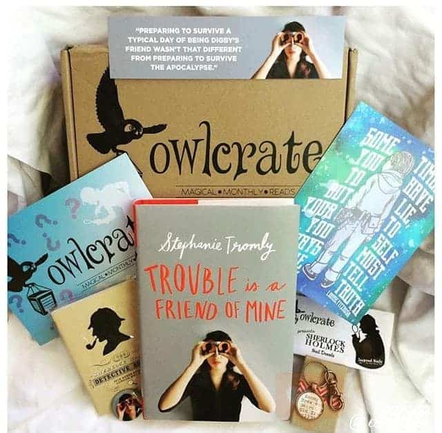 owl crate august Monthly Subscription Boxes for Kids