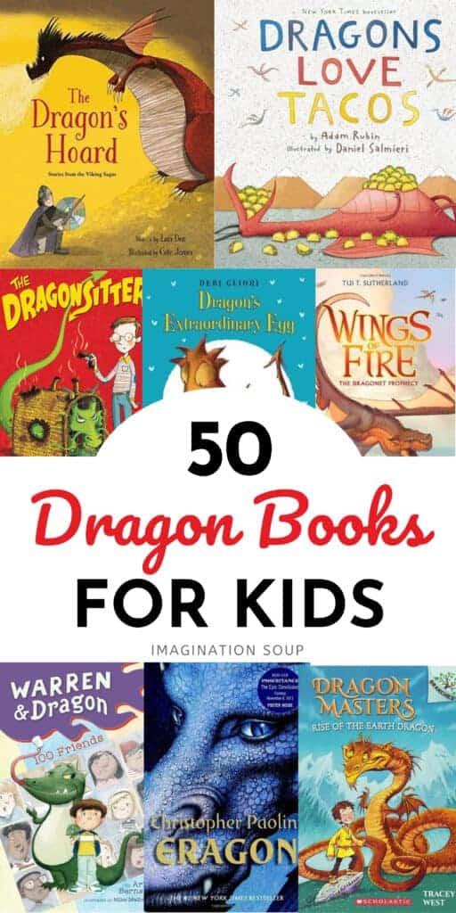 50 dragon books for kids