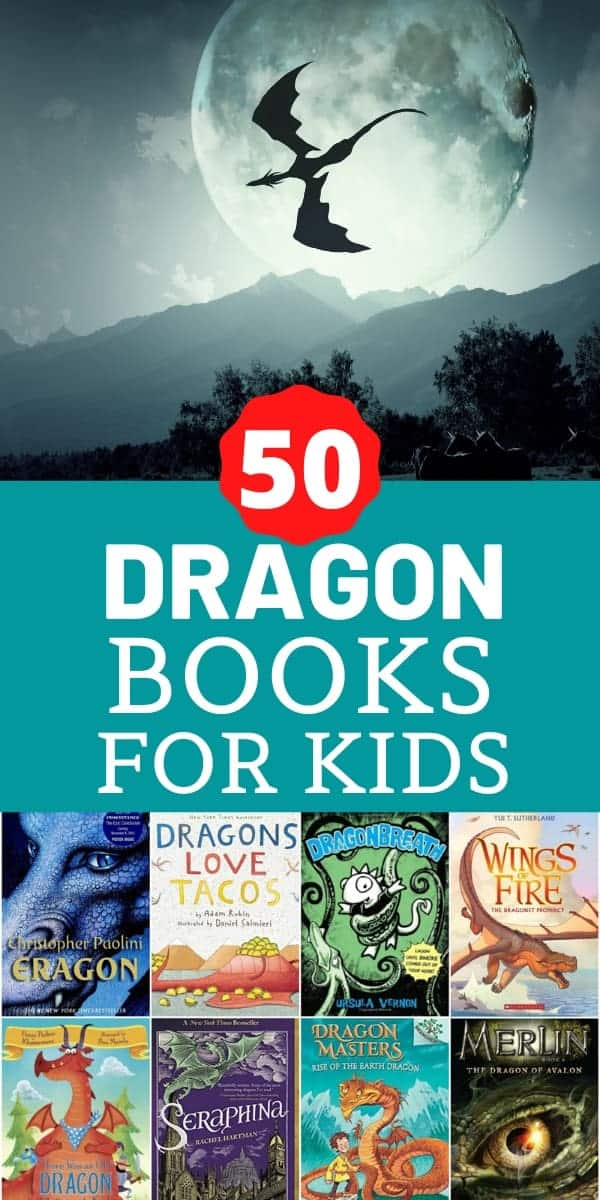 50 dragon picture and chapter books for kids