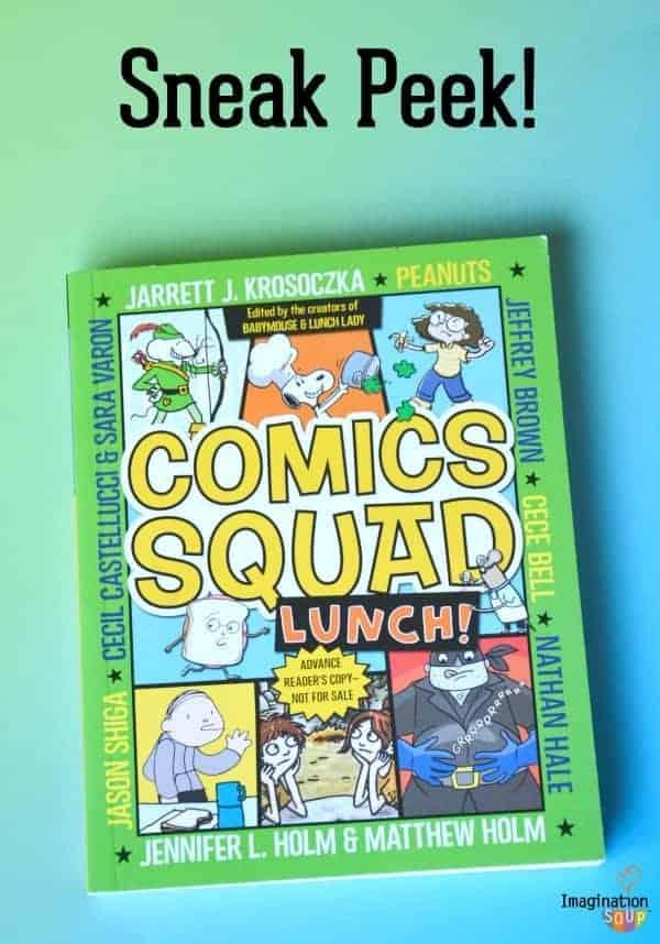 Comics Squad LUNCH! Sneak Peek