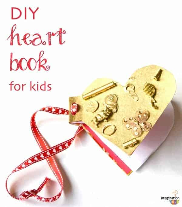 DIY Heart Book For Kids to Make