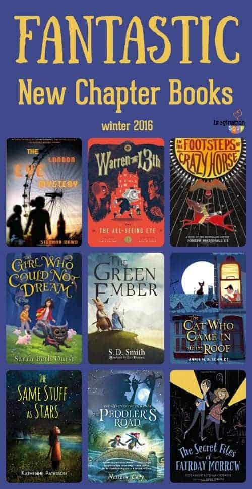 Fantastic New Chapter Books winter 2016