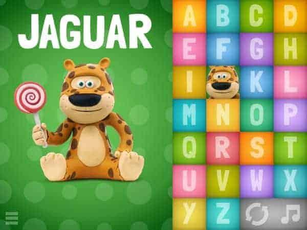 HEY CLAY J for Jaguar Adorable Claymation Alphabet App