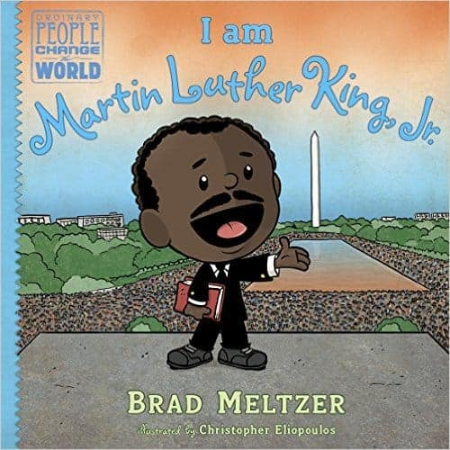 I Am Martin Luther King, Jr. nonfiction book list for 5 and 6