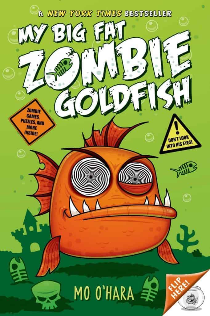 My Big Fat Zombie Goldfish: Recommended Zombie Chapter Books (For Kids and Teens)