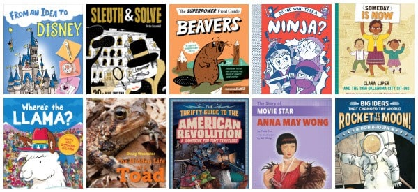 Nonfiction Books for 9 Year Olds (4th Grade)