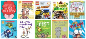 Recommended Emergent Reader (Easy Readers) Books for 5 - and 6- Year Olds