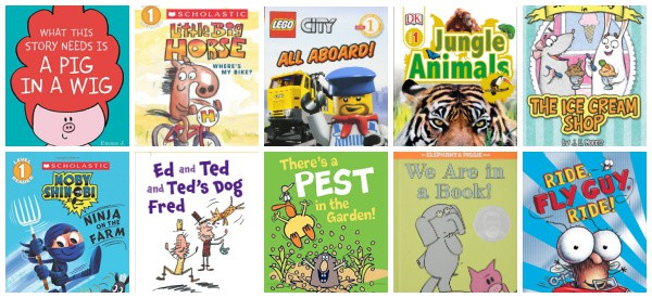 Emergent Reader (Easy Readers) books recommended for children aged 5 and 6
