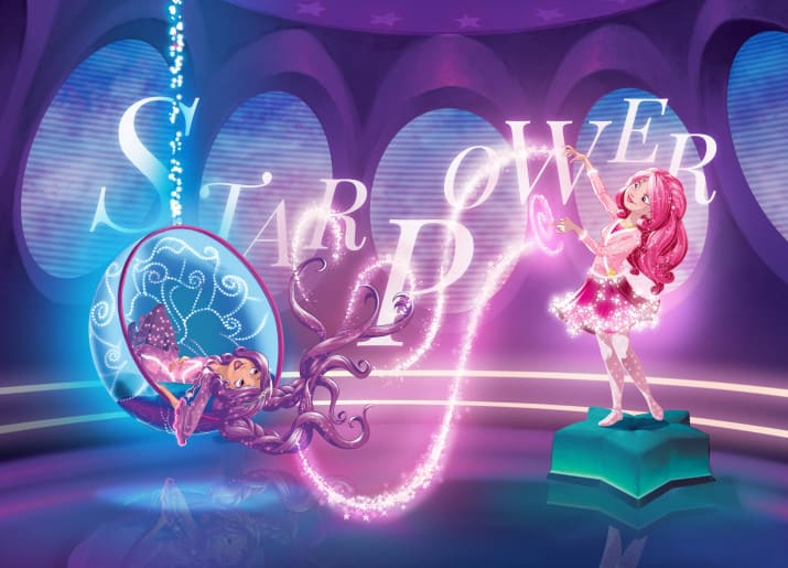 cool new fantasy series about girls who grant wishes called Star Darlings
