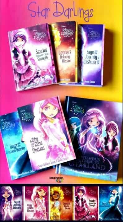Star Darlings Fantasy Books for Girls