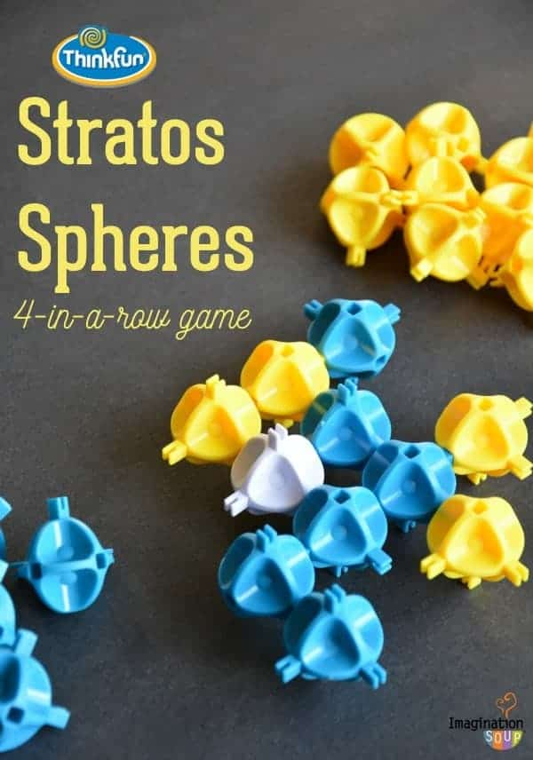 Stratos Spheres Logic 3D Four-in-a-Row Game