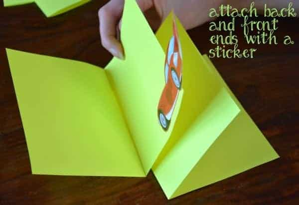 Easy Accordion Book for Kids