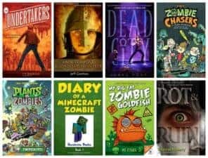 chapter books about zombies