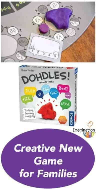 clever and creative game of dough sculptures: Dohdles!