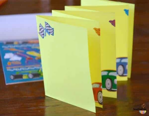 diy accordion book kid can make