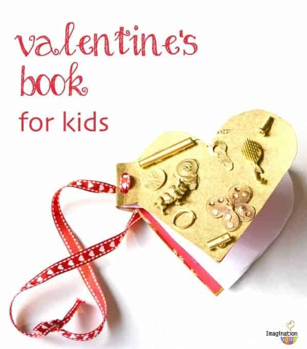 diy valentines day book
