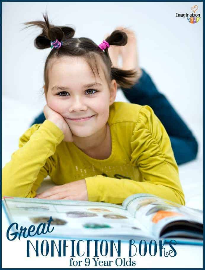 tons of good nonfiction books for kids in 4th grade (age 9)