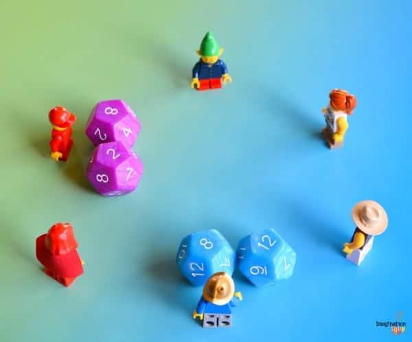 math dice multiplication game