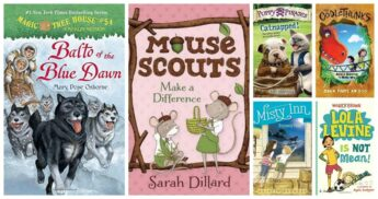 new reviews of recommended beginning chapter books for kids