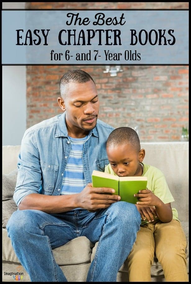 huge list of easy chapter book recommendations for children ages 6 and 7 years old
