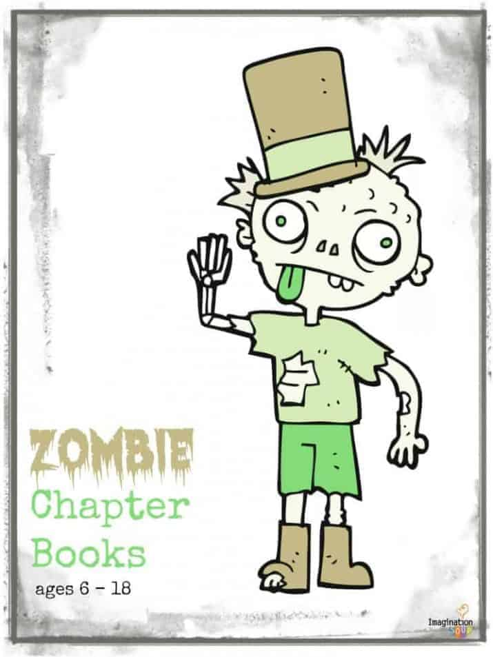 zombie chapter books for kids and teens
