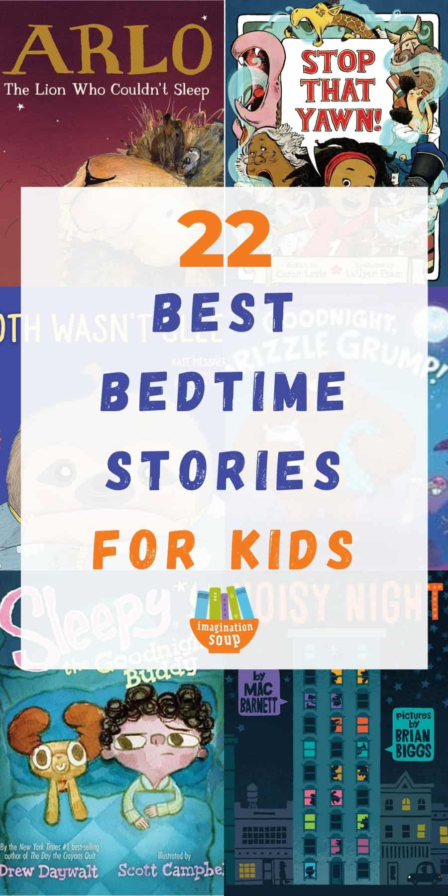 best bedtime stories for kids (about going to sleep)