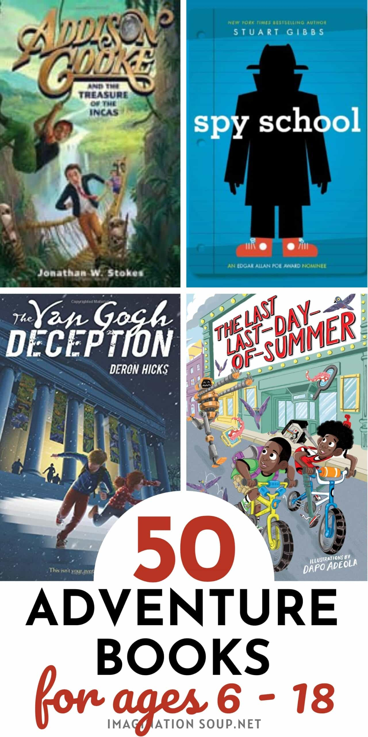 the best chapter books for kids