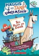 All Paws on Deck (Haggis and Tank Unleashed #1) Dog Chapter Books That Kids Love