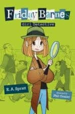 Friday Barnes Girl Detective Middle Grade Chapter Book Reviews and Recommendations