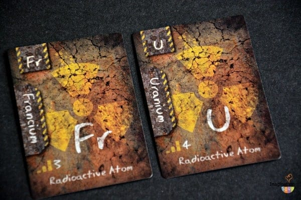 Radioactive ION cards Chemistry for Kids: ION Game Review