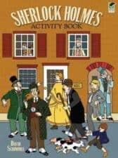 Sherlock Holmes Activity Book for Kids